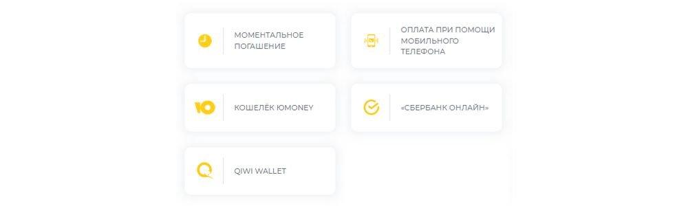 Онлайн способы погашения займов в Moneyfaktura